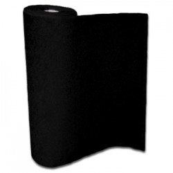 Tapis noir de 2m de large